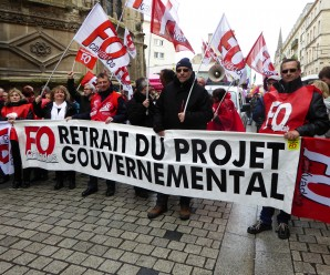9 avril : 5 000 manifestants à Caen